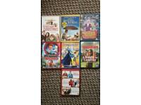 Kids dvds x 7
