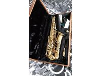 Saxophone for sale excellent condition hardly used alto
