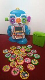 Vtech Gadget robot with an alphabet chips-educational toy