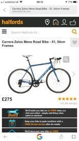 Carerra Zelos Mens Road Bike