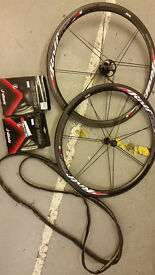 Rolf Prima TDF38 Carbon Road Bike Tubular Wheelset - 1220grams RRP $2200 - ZIPP,Mavic,Fulcrum