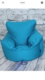 Beanbag chair (teal)