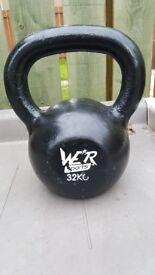 32kg cast iron kettlebell £50 RRP£69.99