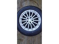 "220 Mercedes 16"" wheel"