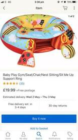 QUICK SALE- BABY PLAY NEST