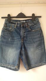 Boys Gap Kids denim shorts age 10-11 years