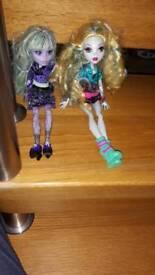 Two monster high dolls