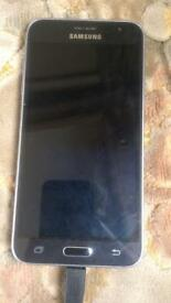 Samsung J3 in Black on EE