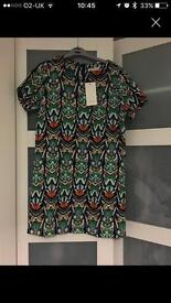 Patterned dress size m/l