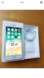 Apple iPhone 7 Plus 256gb unlocked silver very good condition mint