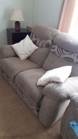 Two Seater Sofa And Armchairs.