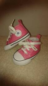 Baby Converse Size 2 Collection Only