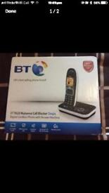Brand-new BT Digital nuisance call blocker cordless phone with answering machine