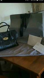Mulberry bayswater large silky snake nappa