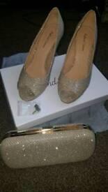 Roland cartier shoes and bag