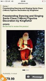 Large talking santa