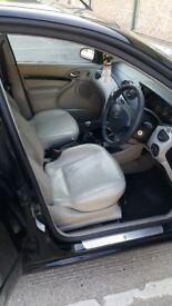 Metallic Panther Black, Ford Focus 1.8 TDCI Ghia, 03 Reg, Manual, Turbo diesel, MOT till July 2019