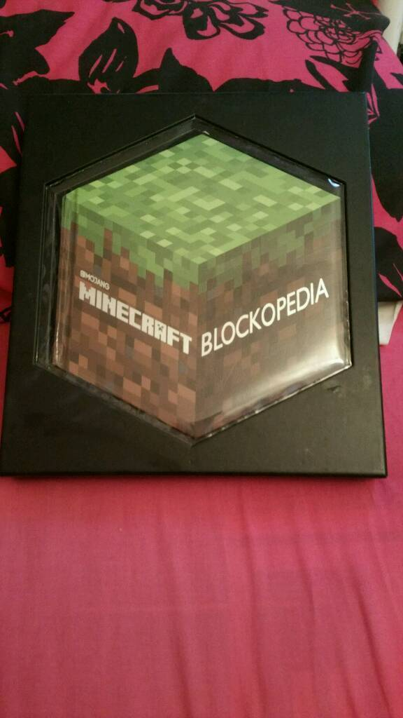 Minecraft encyclopedia and handbook