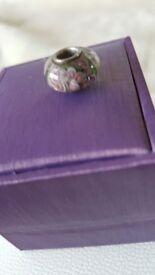 Murano glass and pandora style beads