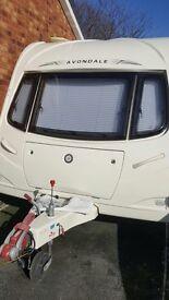 Avondale Osprey 2008 4 Berth Caravan