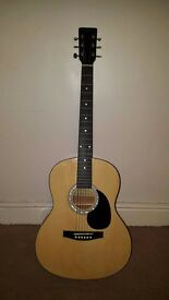Martin Smith Acoustic Guitar - PERFECT FOR BEGINNERS - TUNED - USED / GOOD CONDITION