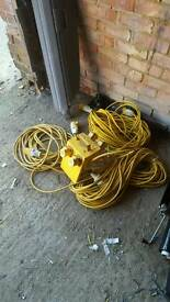 110v extensions leads