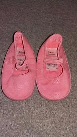 3-6 month old girls shoes