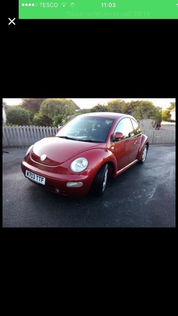 NEEDS TO SELL!! Gorgeous VW BEETLE 2.0l petrol