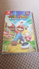 Nintendo Switch Mario & Rabbids Kingdom Battle Brand New Still Sealed