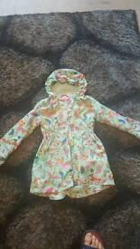 Girls olilly coat age 5