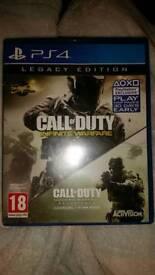 Call of duty infinite warfare and modern warfare remastered