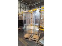 2 x Ikea Deltof Glass Shelf Display Cabinet with Lighting £20 each or 2 for £30