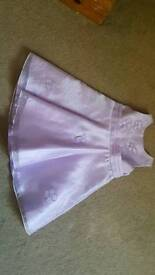 Lilac girls dress