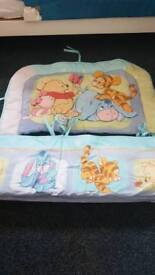 Winnie the Pooh cot bumpers