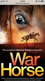 2 Tickets for War Horse