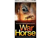 2 Tickets for War Horse