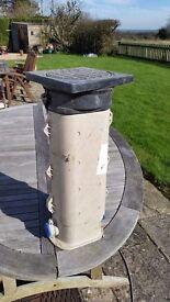 STOP TAP & WATER METER BELOW GROUND BOX