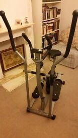 2 in 1 cross trainer and exercise bike