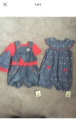 Baby girls clothes age 3-6 months bnwt