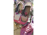 City Mini Baby Jogger double buggy