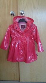 Ted Baker, girls coat age 2-3