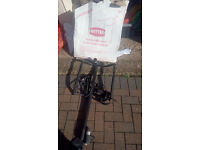Witter towball mounted cycle carrier