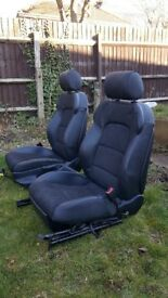 Half leather S LINE seats 2009-2012 Audi A3 S line 5 door
