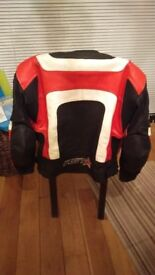 Ladies women's motorcycle Size 14 jacket and trouser set