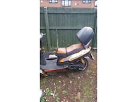 125 moped and new weels spares and repairs only