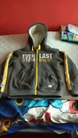 Boys everlast fleece jacket, age 9/10