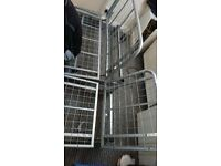 FUTON BED METAL FRAME ONLY NEEDS GONE ASAP