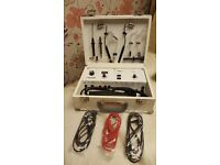 CC2345/MD Carlton Miniderm Portable. Galvanic and High Frequency vanity Case.