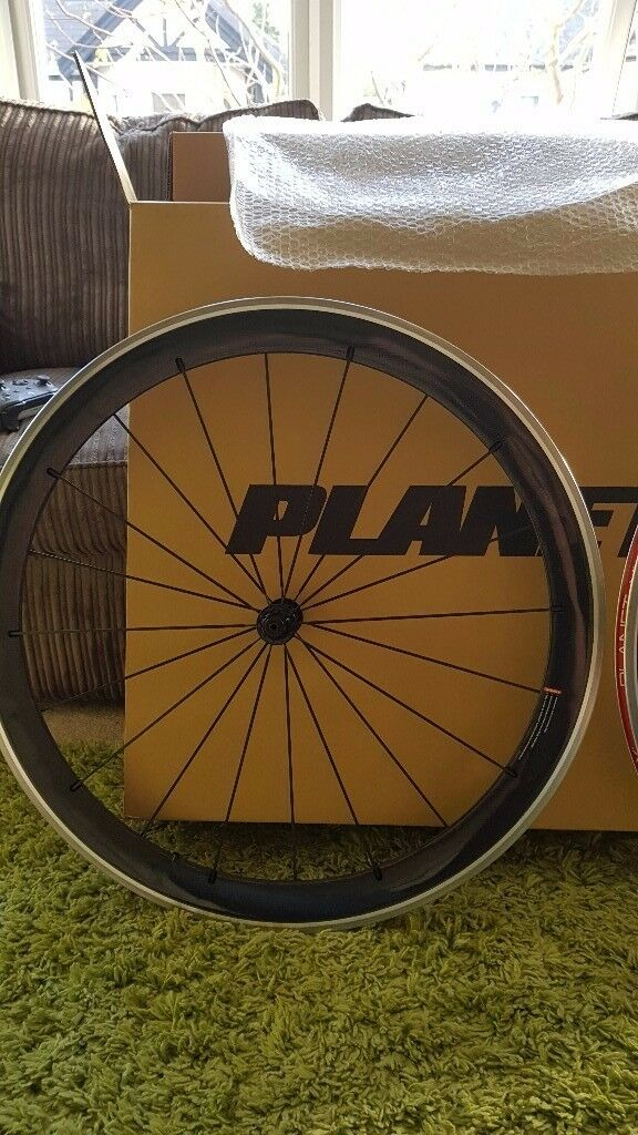 Planet X 52MM Carbon Clincher Wheelset /700c/Shimano/Shram/10/11speed/no logo