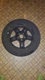 X4 Ford skeleton steel wheels